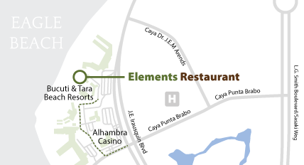 Elements Restaurant Google Map